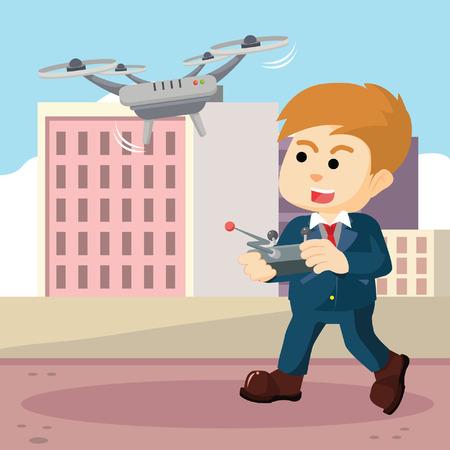 entrepreneurs: entrepreneurs play using drones