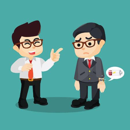 mobbing: mobbing smartwatch employee low battery