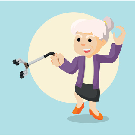 kung: old woman kung fu