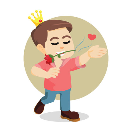 modern prince bite roses