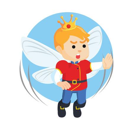 fairy prince illustration design Illustration