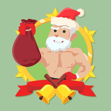 strong: strong santa claus