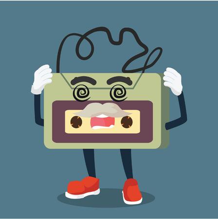 dizzy: old audio tape dizzy