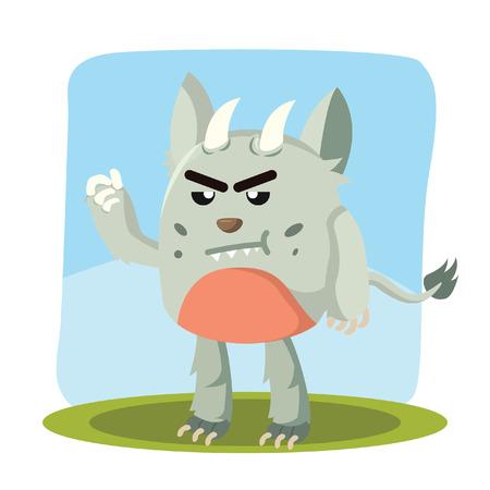 grumpy: grumpy monster character