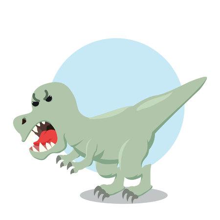 trex roaming vector illustration design