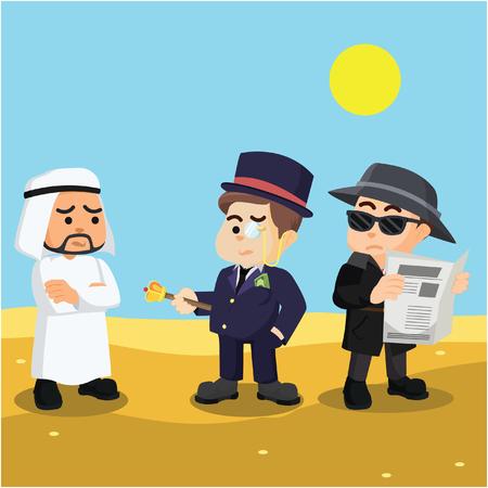 warned: spy warned rich man and arabian
