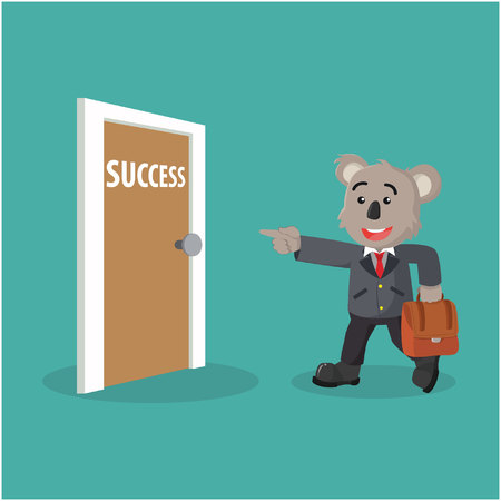 succes: koala business and succes door