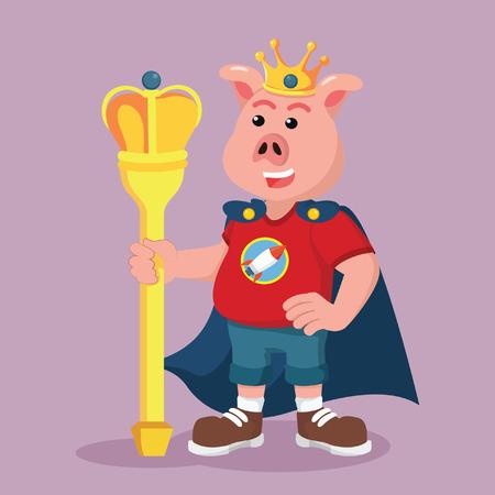 hand stand: fat pig nerd king