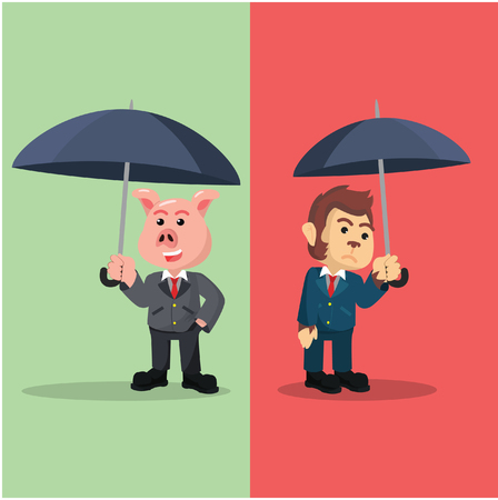 status: business animal diferences status social referenced by umbrella
