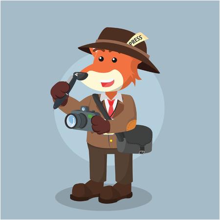 fox journalist illustration design