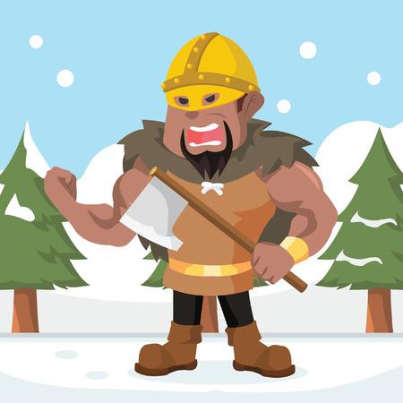 Big African Viking lord