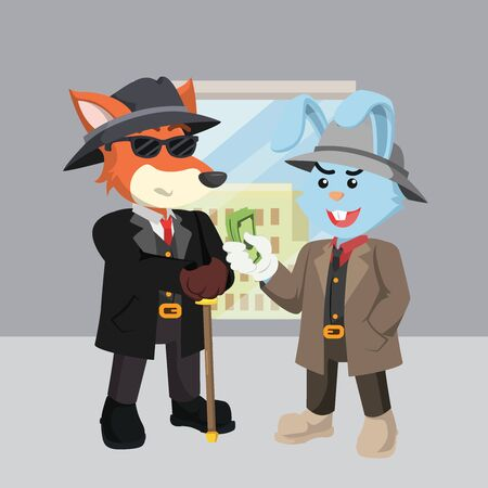 business in company vector illustration design