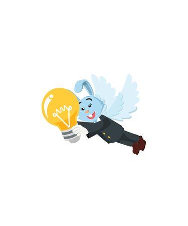business women fly vector illustration design Stock Illustratie