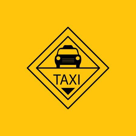 Vintage taxi logo design. taxi transportation company label. taxi logo stamp.