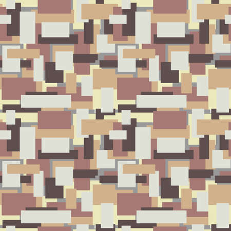 Background from geometric figures in pastel brown shades.