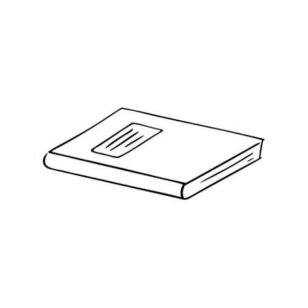 Hand-drawn notebook.