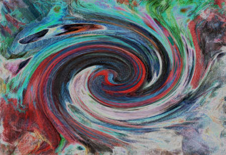 Whirlpool.Contras abstractiont , colorful background.