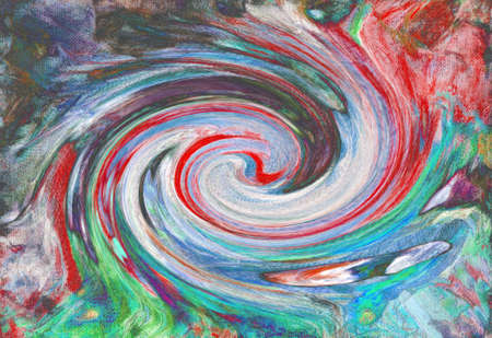 Whirlpool of life. Contras abstractiont, colorful background.