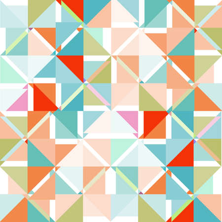 Abstract colored retro vector background