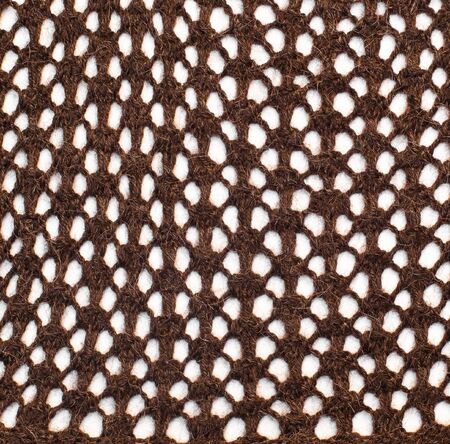 background brown knits into the net photo