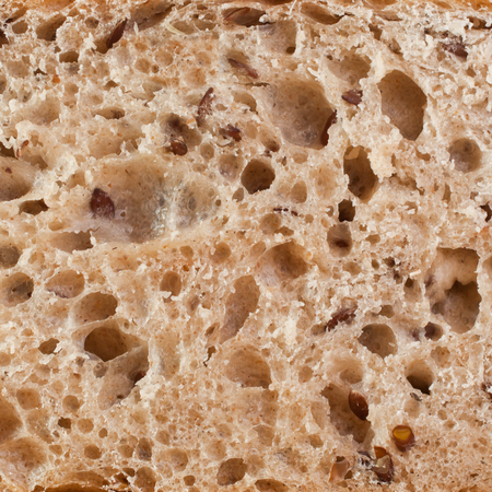 Bread in a cut in the form of a background Reklamní fotografie