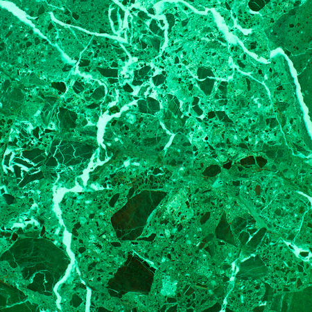 Abstract background of green marble