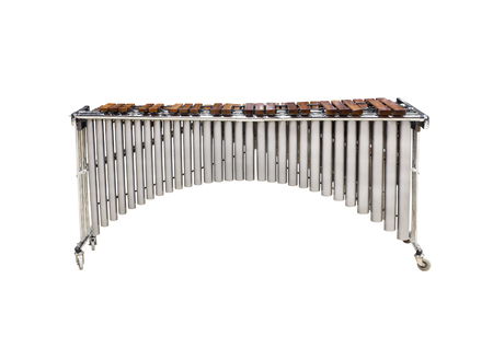 Marimba isolated on white background