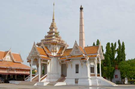 crematorium: Crematorium in the temple, Thailand Stock Photo