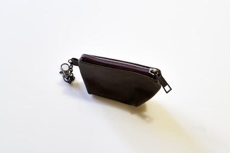 coin purses: Brown Coin purses for keep the money Stock Photo