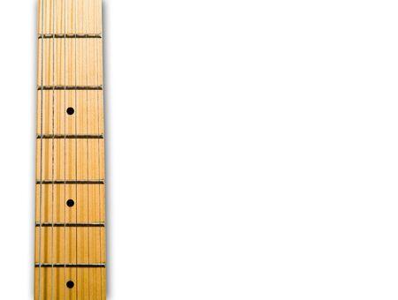 fender stratocaster: guitars neck over white background - hi res 12,7 mpix
