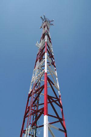 gsm: Antenna GSM in Bogatynia (Poland) Stock Photo