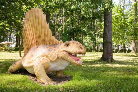 Jurrasic park - set of dinosaurs - Dimetrodon grandis