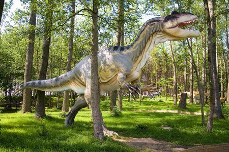 Jurrasic park - set of dinosaurs - Allosaurus (Allosaurus fragilis)