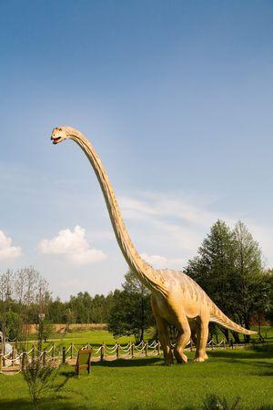 Jurrasic Park - Satz von Dinosaurier - Mamenchisaurus Constructus Standard-Bild - 991317