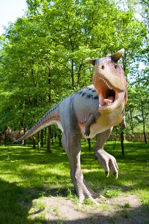 Jurrasic Park - Satz Dinosaurier - Carnotaurus sastrei  Standard-Bild - 991325