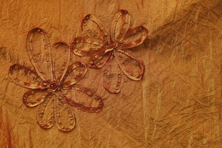 good quality: flower background - fragment of good quality textile