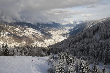 winter landscape - photo taken in italian dolomites Stock Photo - 4488919