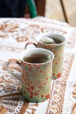 yerba mate: yerba mate sirve en dos tazas