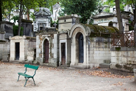 The most famous cemetery in Paris - Pere Lachaise photo