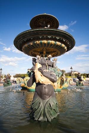fontaine: A photo of Fontaine des Mers on Place de la Concorde