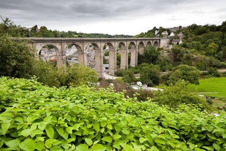 dinan: the old bridge at Dinan