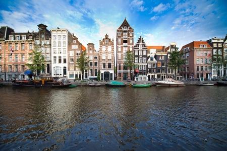 Ein Bild von beutiful Amsterdam-Landschaft Standard-Bild - 13096971