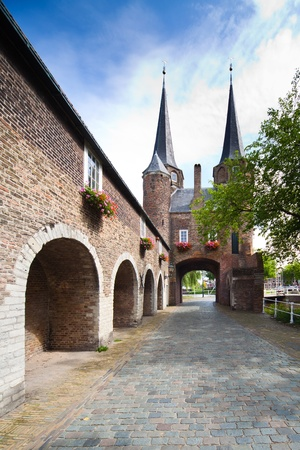 delft: East Gate in Delft - Holland Editorial