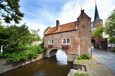 rooftiles: East Gate in Delft - Holland Editorial