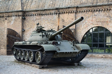 tracked: T-54 russian tank Stock Photo