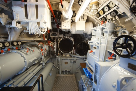 e VIIC 41 - aft torpedo compartment - ultra wide angle photo