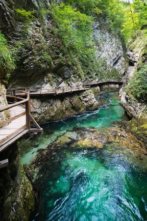 slovenia: Vintgar valley - tne most beautiful place in Slovenia