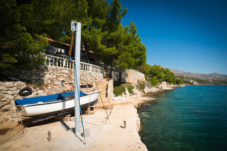 starigrad: Seashore in Croatia - somewhere near Starigrad Stock Photo