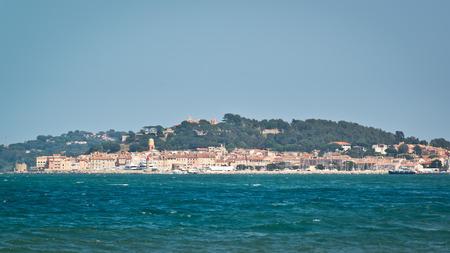 St. Tropez - wiev from the sea photo