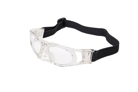 protecting spectacles: Sport protective glasses Stock Photo